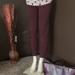 💜Gorgeous Great Condition soft Garnet CK Jeans